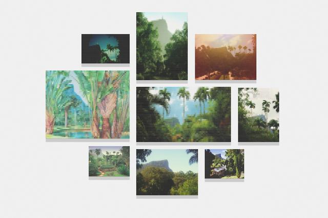 , 'Corcovado since Botanic Garden,' 2010, Zipper Galeria