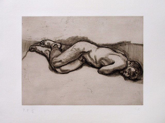 , 'Naked Man on a Bed,' 1987, Galerie Raphael