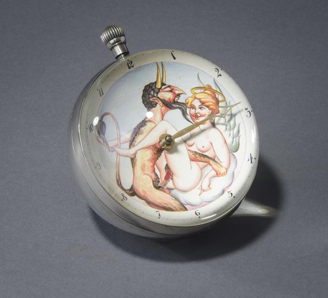 , 'Devil and Angel Ball Clock,' 2000, Hieronymus