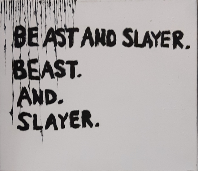 , 'Beast and Slayer,' 2019, Robert Kananaj Gallery