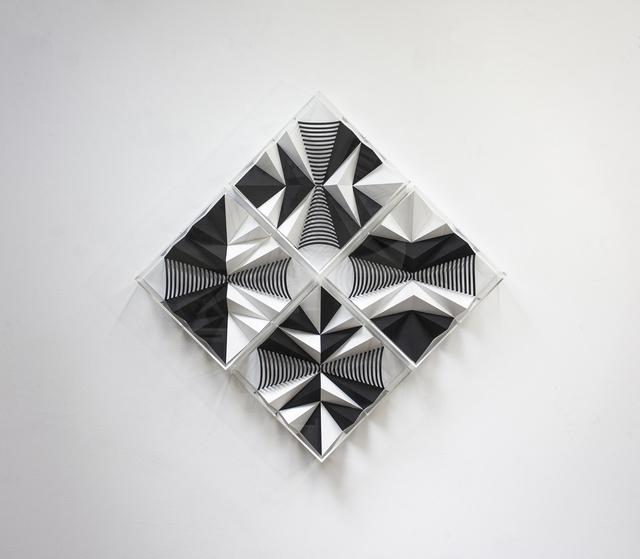 , 'Variation autour d'un demi cône -Composition 1,' 2019, Galerie La Ligne