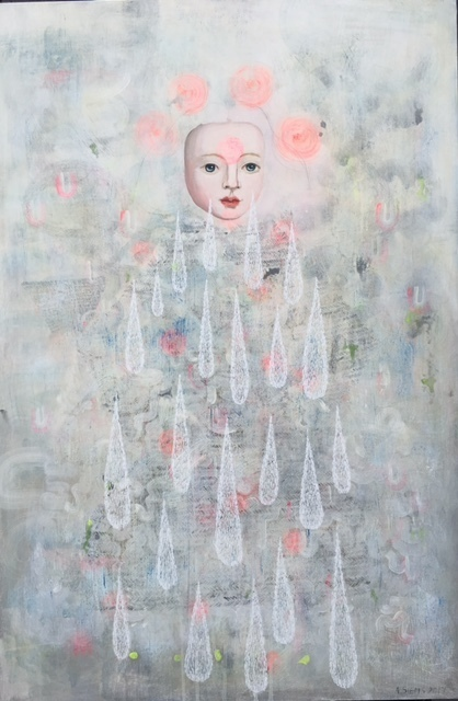 Anne Siems, 'Knowing', 2017, Painting, Acrylic on panel, Wally Workman Gallery
