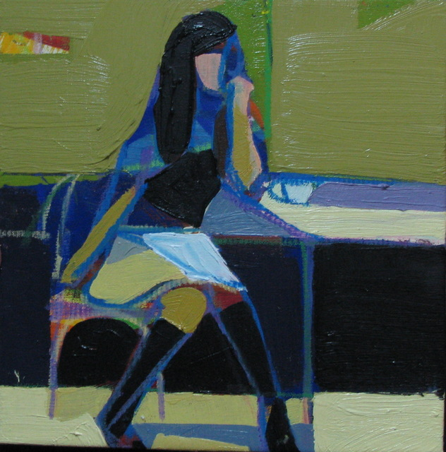 Wipoosana Supanakorn, 'Girl in Bistro No. 5', 2011, Tanya Baxter Contemporary