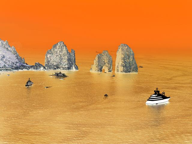 Olivo Barbieri, 'Capri #12', 2013, Photography, Archival pigment print, Yancey Richardson Gallery
