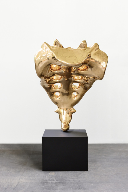 , 'Tailbone (golden),' 2019, Kukje Gallery