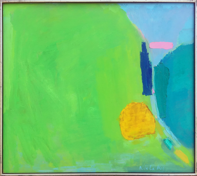 , 'Abstract Landscape, Spring,' ca. 1980s, 203 Fine Art