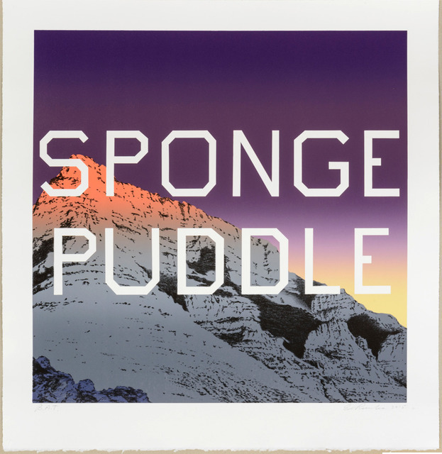 , 'Sponge Puddle ,' 2015 , Maddox Gallery