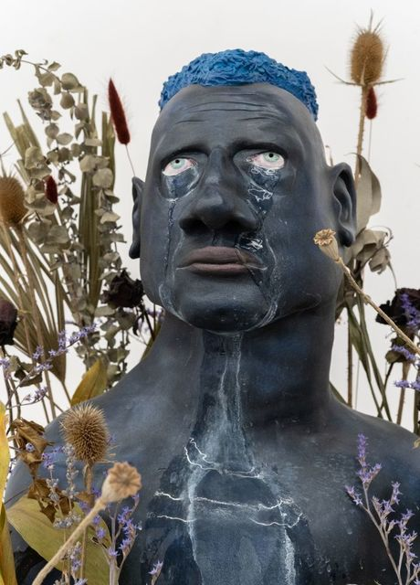 Lea Rasovszky, 'Criers (Is it Weird That I Want to Taste Your Tears?)', 2019, Installation, Dyptich, dried flowers, metal support, Art Encounters Foundation