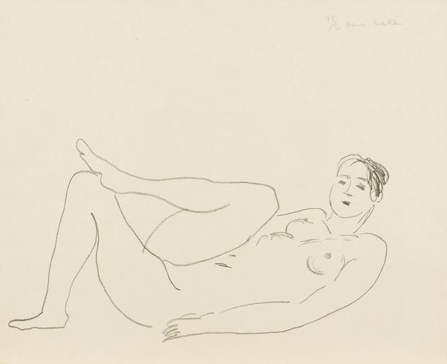 Henri Matisse, 'Nu couché, jambe repliée – Étude de jambes', 1925, Bernard Jacobson Gallery
