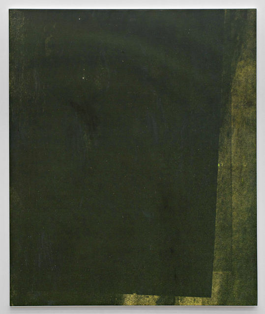 , 'E.H.D (Letratone yellow #06),' 2015, Johannes Vogt Gallery