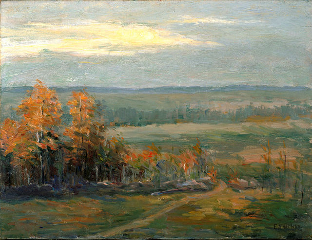 , 'Princeton Landscape,' ca. 1913, White House Historical Association