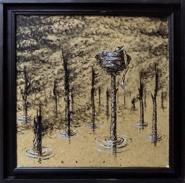 , 'Wood ash,' 2015, TOLK Gallery