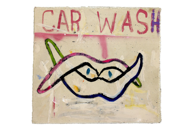 Richard Mason, 'CAR WASH STUDY ', 2019, Painting, Acrylic on canvas, 99 Loop Gallery