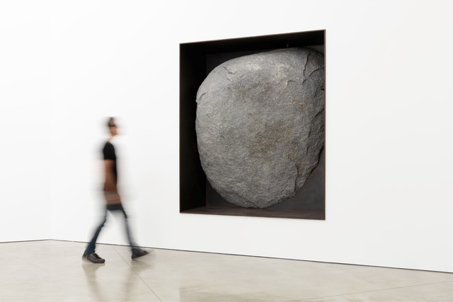 , 'Black Diorite Negative Wall Sculpture,' 1992-1994, Gagosian
