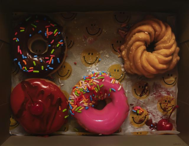 , 'Donut Happy,' 2019, Gallery 1261