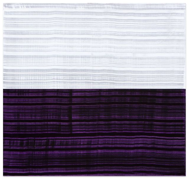 , 'White and Violet Blue 2,' 2016, Sundaram Tagore Gallery