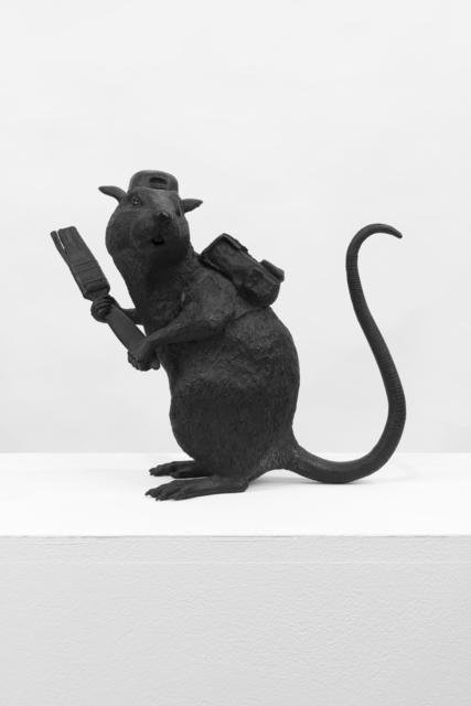 , 'Bronze Rat,' 2006, Lazinc
