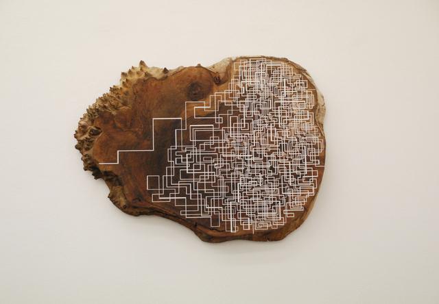 , 'Four Lines,' 2015, Giampaolo Abbondio