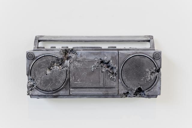 , 'Obsidian Eroded Radio,' 2013, Baró Galeria