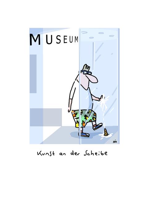 , 'Kunst an der Scheibe,' 2018, Galerie Floss & Schultz