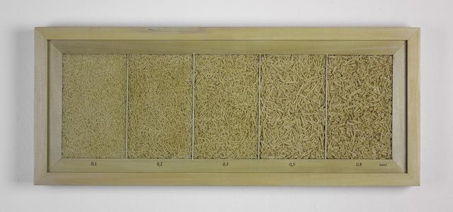 , 'Granulometria Pau-Marfim (Granulometry Pau-Marfim),' 2018, Baró Galeria