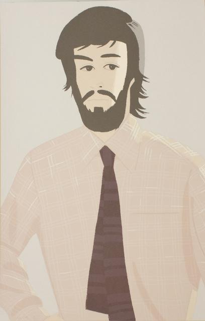 Alex Katz, 'Plaid Shirt I', 1981, Yodo Gallery