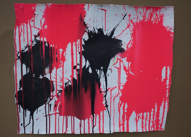 Ushio Shinohara, 'Red and Black', 2018, Deborah Colton Gallery