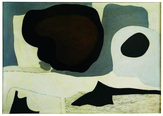 , 'Mid Winter,' ca. 1954, Guggenheim Museum