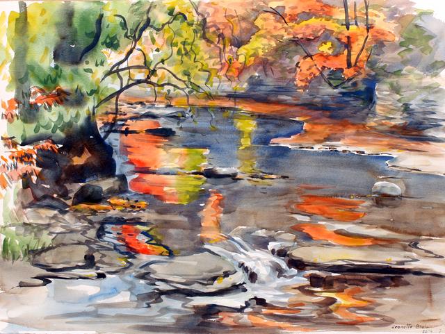, 'Waterfall in Autumn,' , Benjaman Gallery Group