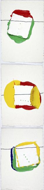 , 'Spatium 3  (Tryptich),' 2013, Galerie Krinzinger