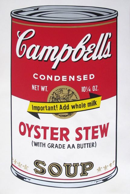 , 'Campbell's Soup Can II Oyster Stew,' 1969, Corridor Contemporary