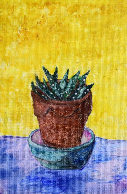 , 'Cactus,' 2017, Fountain House Gallery