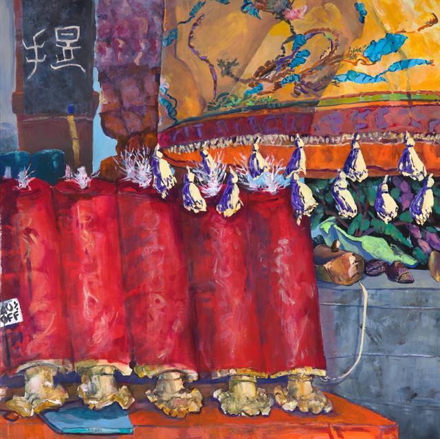 , 'Hangzhou Temple Shop,' 2018, Bruno David Gallery