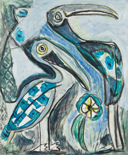 Oliver Chaffee, 'Two Pelicans', 1938, Childs Gallery