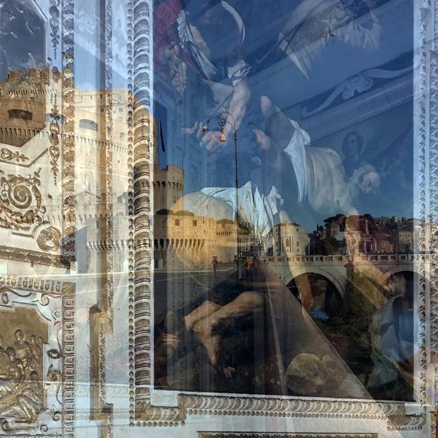 , 'My own Rave. Roma (SantAngiolesco),' 2019, Galleria Anna Marra
