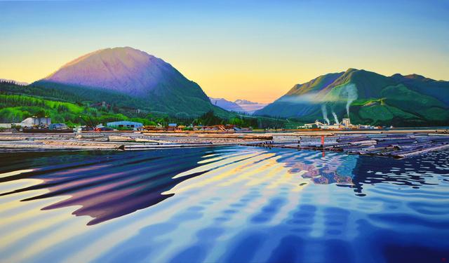 , 'Port Mellon ( Howe Sound),' 2019, Kurbatoff Gallery