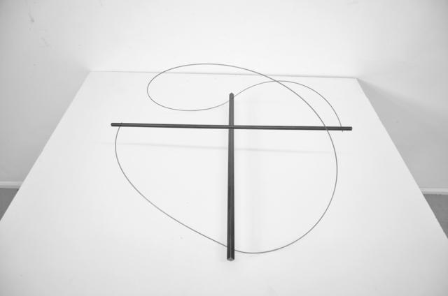 , 'gespannt, Kreuz, Kreis, III,' 2012, SMUDAJESCHECK