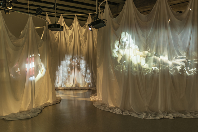 Victoria Sin, 'A View from Elsewhere, Act 1, She Postures in Context', 2018, Hayward Gallery at Southbank Centre