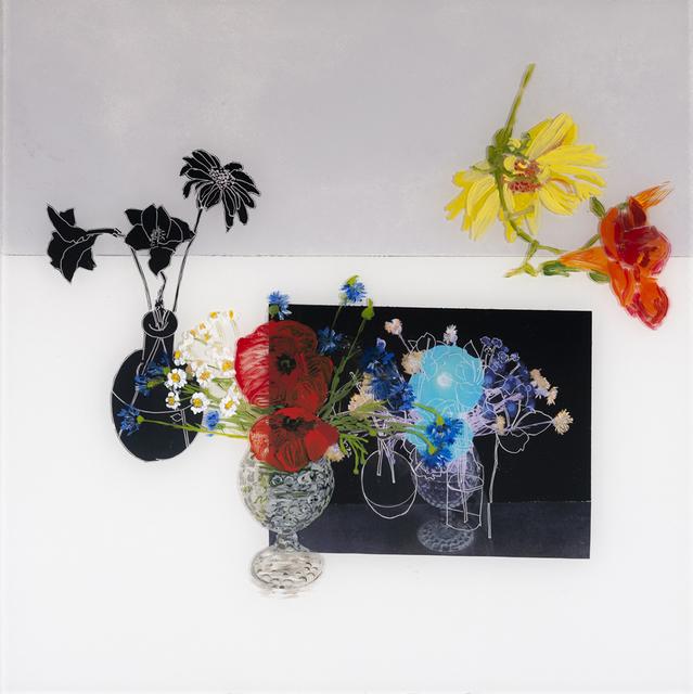 , 'Poppies in a Glass Vase,' 2018, Valley House Gallery & Sculpture Garden