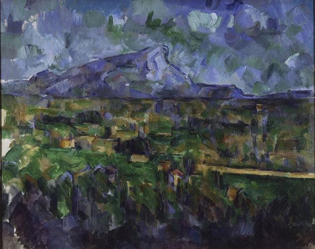 Paul Cézanne, 'Mont Sainte-Victoire', 1902-1906, Philadelphia Museum of Art