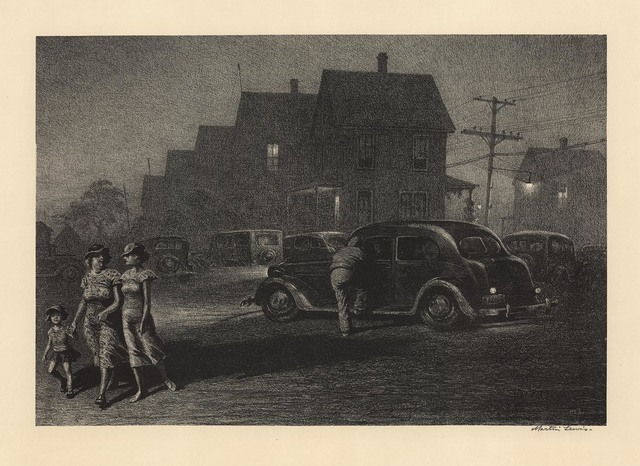 , 'American Nocturne.,' 1937, The Old Print Shop, Inc.