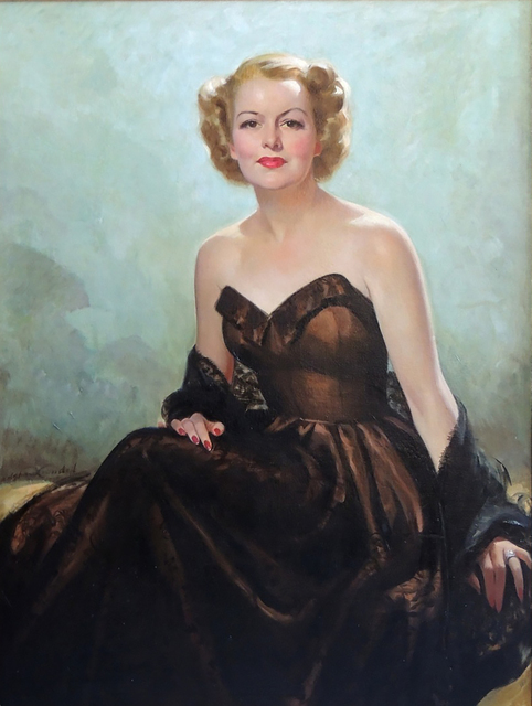 Bradshaw Crandell, 'Portrait of a Lady', The Illustrated Gallery