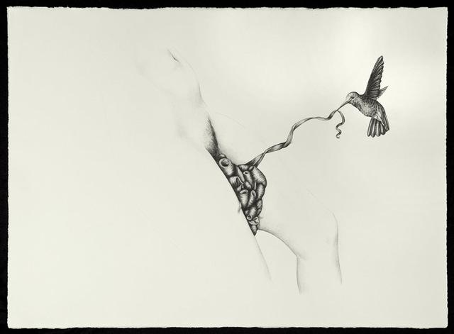 , 'Figure and hummingbird,' 2011, Jenkins Johnson Gallery