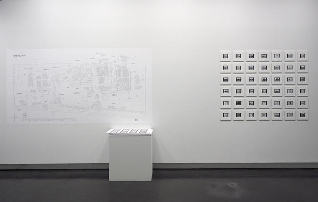 , 'Habiter Choucha,' 2012-2013, Galerie Les filles du calvaire