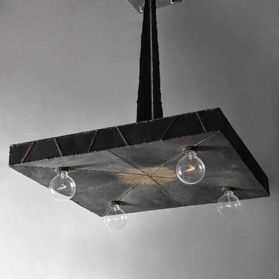 Paul Evans (1931-1987), 'Welded Steel Hanging Light, USA,', 1969, Todd Merrill Studio