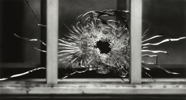 , 'Untitled (Bullet Hole in Window, January 7, 2015),' 2015-2016, Brooklyn Museum