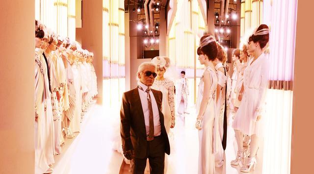 Simon Procter, 'CHANEL, Karl and Brides, Haute Couture 2010, Rue Cambon, Paris', Rosenbaum Contemporary