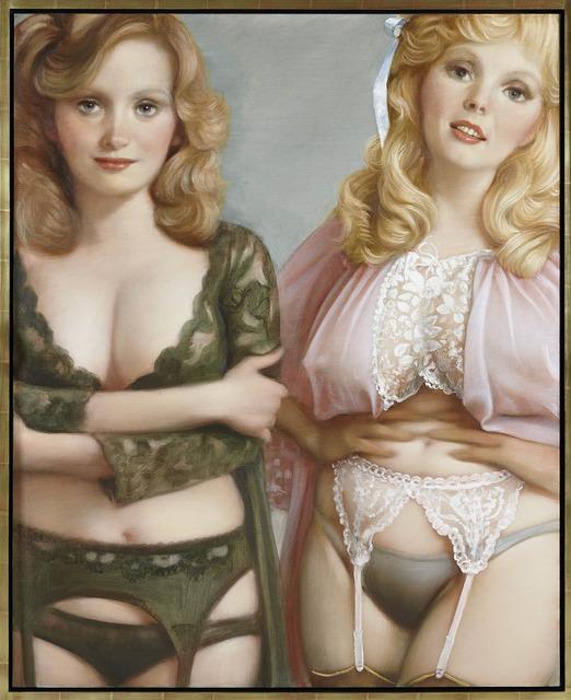 , 'Lynette & Janette,' 2013, Gagosian