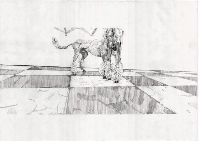 , 'Drawing Scene (Poodle),' 2010, MLF | MARIE-LAURE FLEISCH