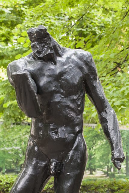 , 'Pierre de Wissant, nu monumental sans tête ni mains (Pierre de Wissant, monumental nude without head and hands),' 1886, Musée Rodin